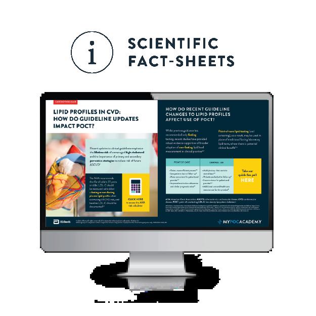 myPOCacademy - scientific fact sheets